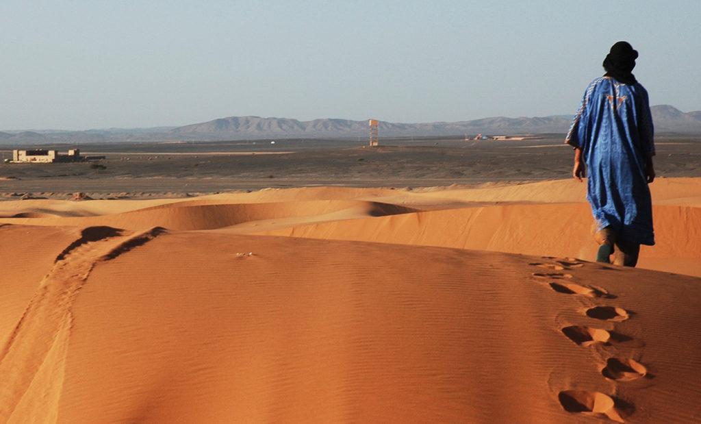 uomo berebero deserto marocco