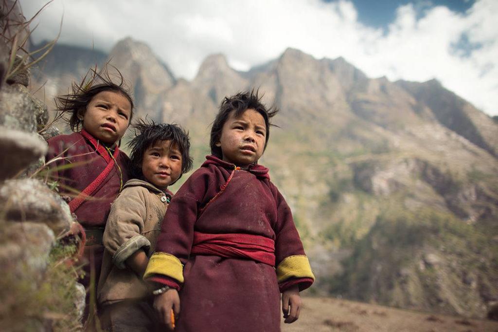 bambini himalaya