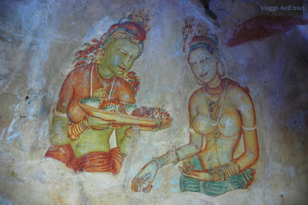 Sri lanka Sigiriya pitture
