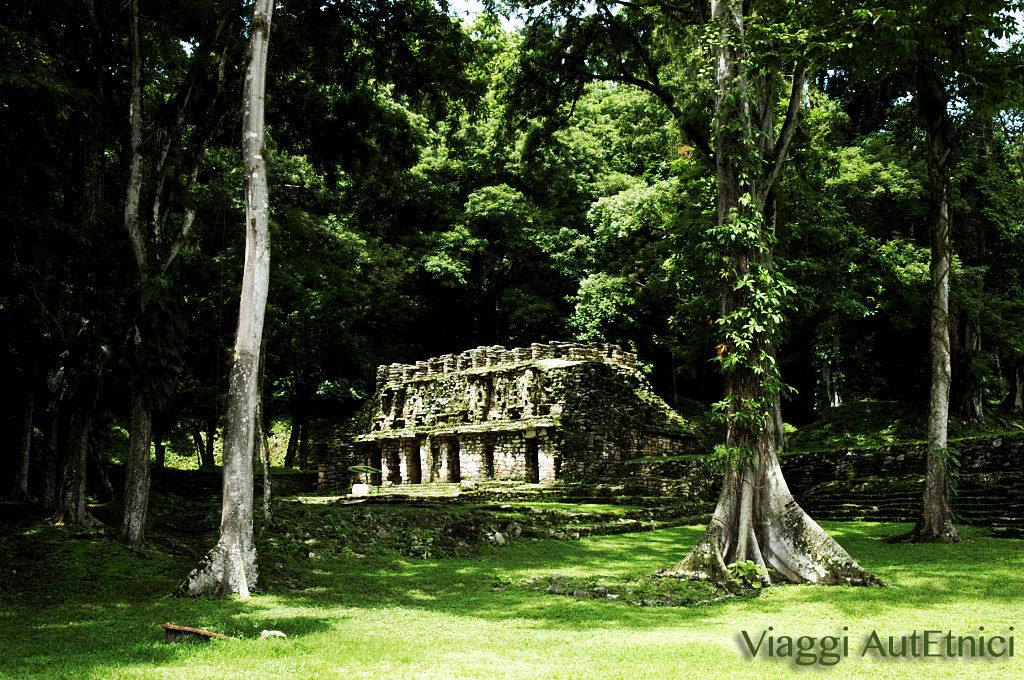 tempio rovine maya messico