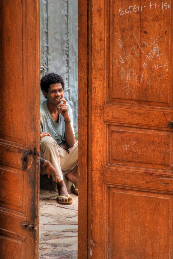 etiopia porta uomo