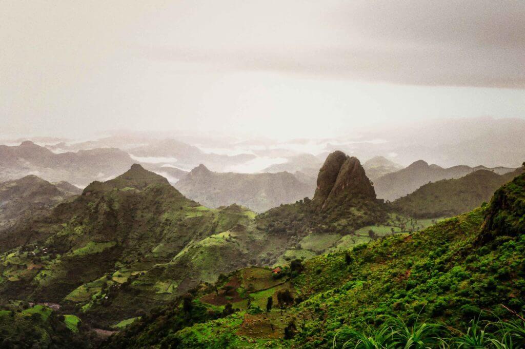 etiopia paesaggio natura