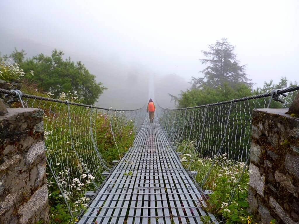 ponte nepal trekking
