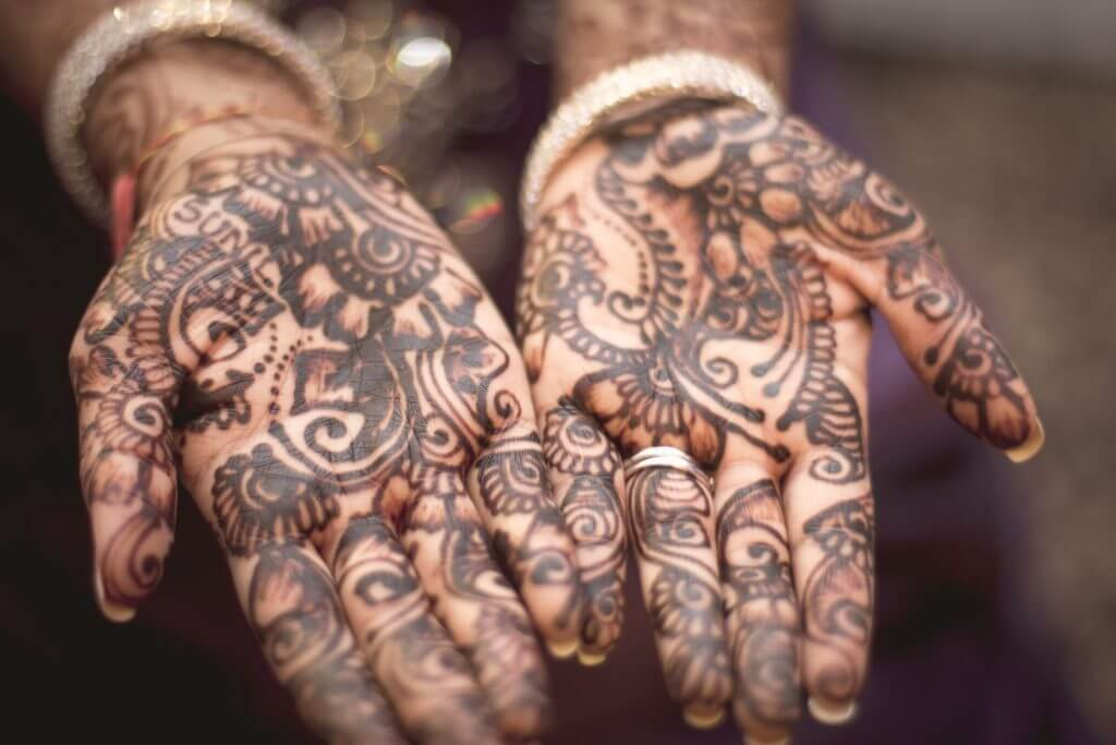 henné tatuaggi india