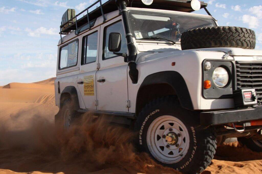 fuoristrada deserto 4x4