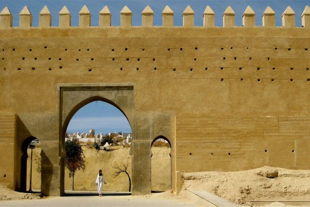 porta mura medina donna