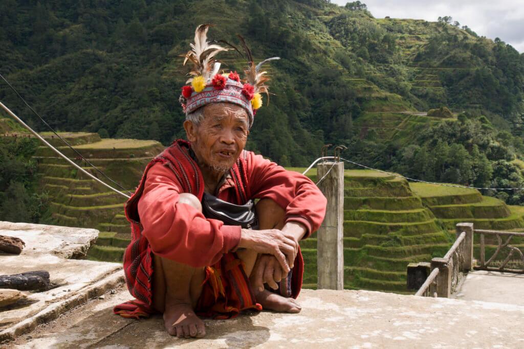 filippine uomo banaue